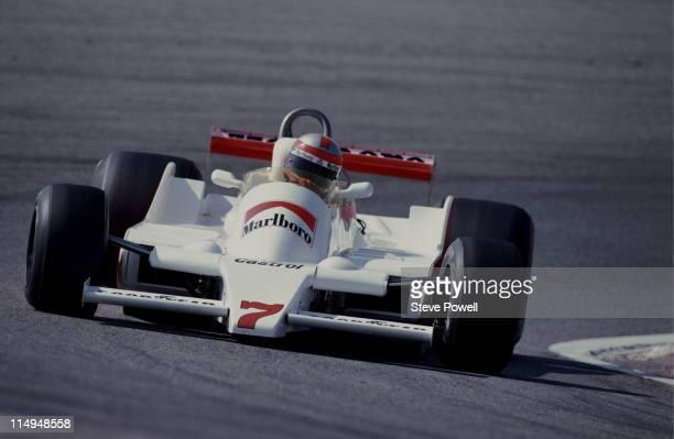 John Watson drives the Marlboro Team McLaren M28 Ford Cosworth DFV 30 V8 during the Spanish Grand Prix on 29th April 1979 at the Circuito del Jarama...