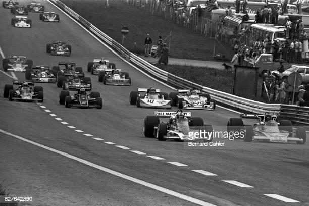 John Watson James Hunt Penske PC4 McLarenFord M23 Grand Prix of Austria Zeltweg 15 August 1976