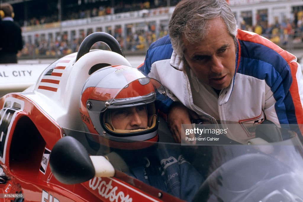 John Watson, Roger Penske, Grand Prix Of Germany : News Photo