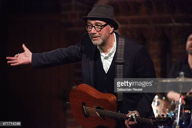 John Watts performs at Passionskirche on April 30 2015 in Berlin Germany