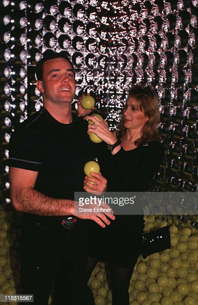John Wayne Bobbitt and Dr Judy Rurinsky during John Wayne Bobbitt at Tunnel 1994 at Tunnel in New York City New York United States