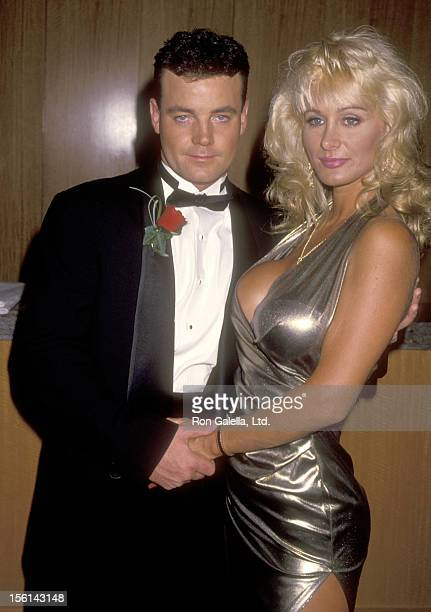 John Wayne Bobbitt and porn star Crystal Gold attends the 'John Wayne Bobbitt Uncut' Beverly Hills Premiere on September 29 1994 at Academy Theatre...