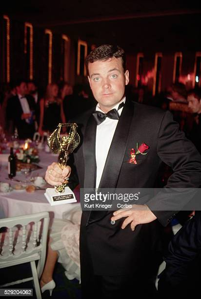 John Wayne Bobbitt receives an 'Oscar' at the Porn Oscars Ceremony in Cannes France Bobitt acheived notoriety when his wife Lorena cut off his penis...