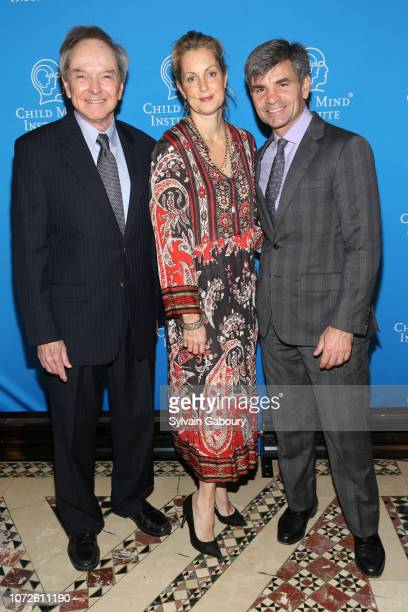 John Weisz George Stephanopoulos and Ali Wentworth attend Child Mind Institute 2018 Child Advocacy Award Dinner at Cipriani 42nd Street on November...