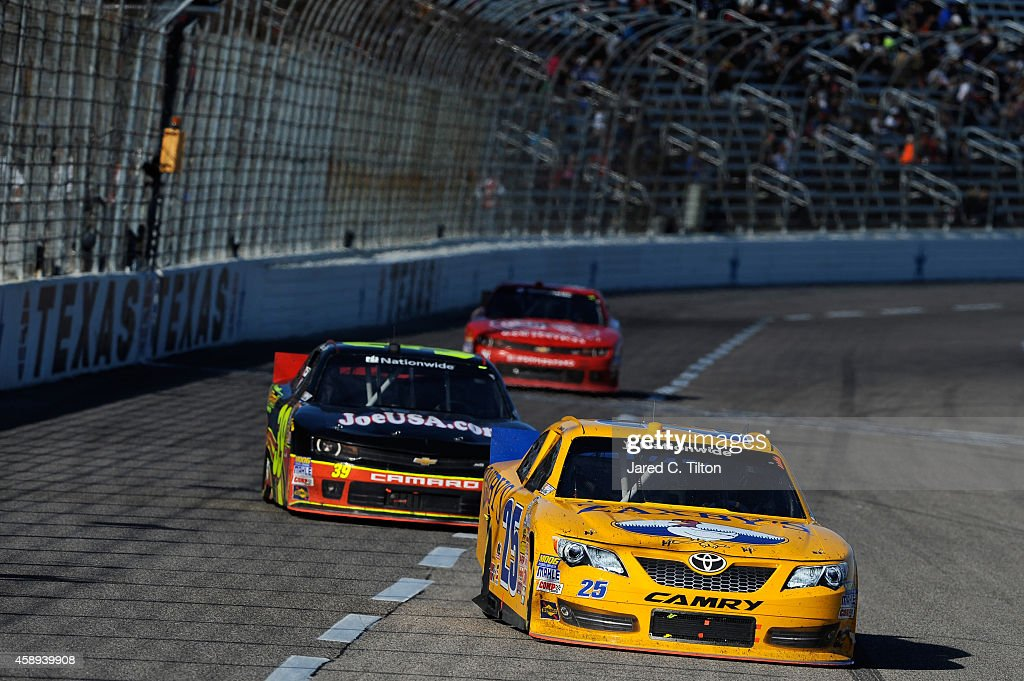 John Wes Townley, driver of the Zaxby's Toyota, during the