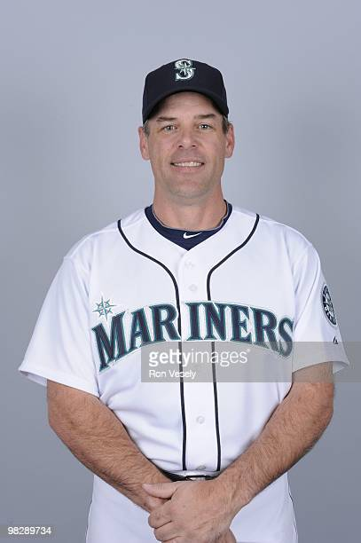 John Wetteland of the Seattle Mariners poses during Photo Day on Thursday February 25 2010 at Peoria Sports Complex in Peoria Arizona