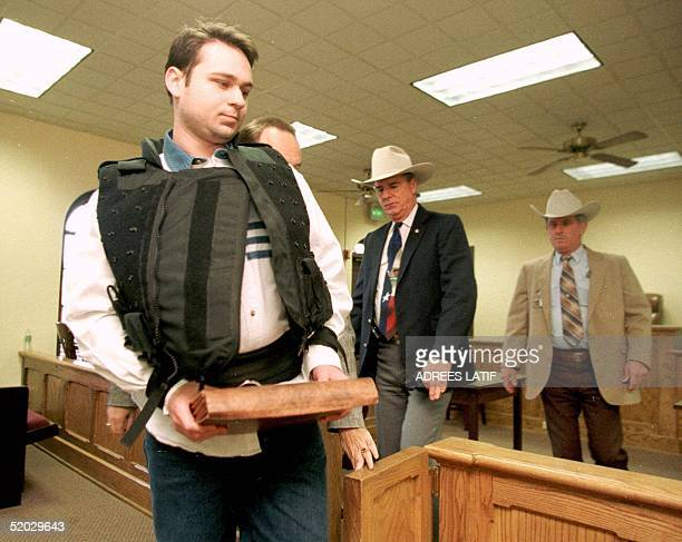 John William Bill King enters the Jasper County Courthouse for the penalty phase of his capital murder trial in Jasper Texas 24 February King was...
