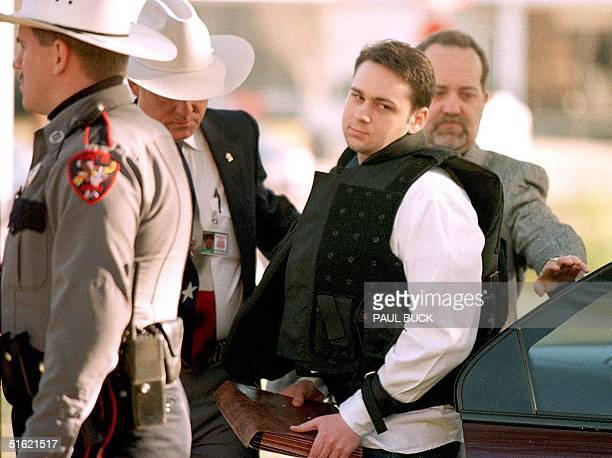 John William King is escorted into the Jasper County Courthouse for the penalty phase of his capital murder trial in Jasper Texas 24 February King...