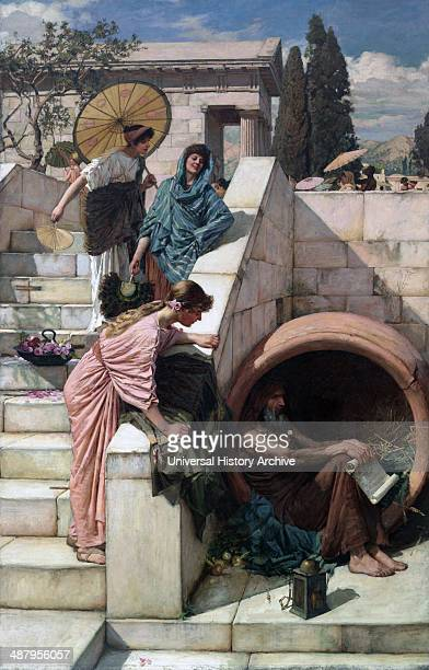 John William Waterhouse – Diogenes John William Waterhouse was an English painter known for working in the PreRaphaelite style Diogenes of Sinope was...