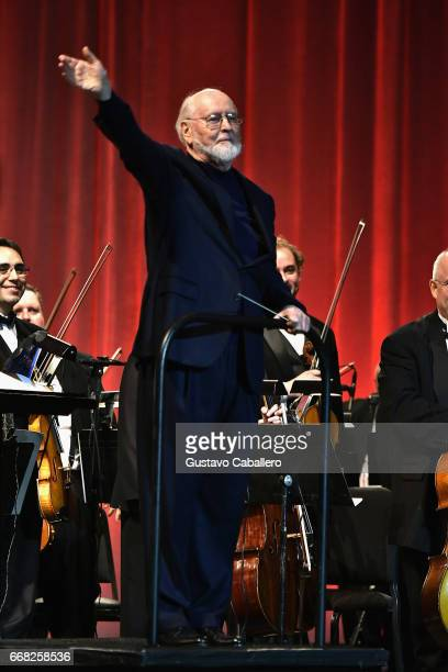 John Williams attends the Star Wars Celebration Day 1 on April 13 2017 in Orlando Florida