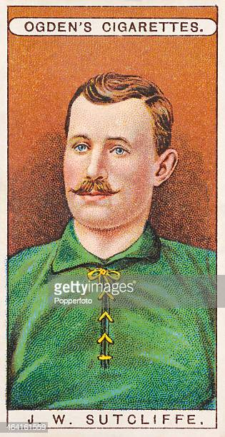 John Willie Sutcliffe of Plymouth Argyle FC featured on a vintage cigarette card published in London circa 1908