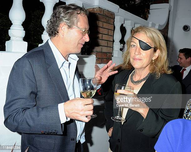 John Witherow attends 'The Spectator At Home' Summer Party on July 7 2011 in London England