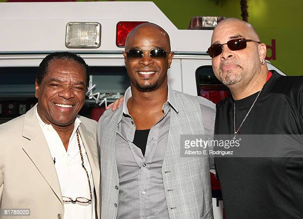 """John Witherspoon, actor Damon Wayans and comedian Sinbad arrive to the Premiere of Sony Pictures' 'Hancock"""" at Grauman's Chinese Theatre on June 30,..."""