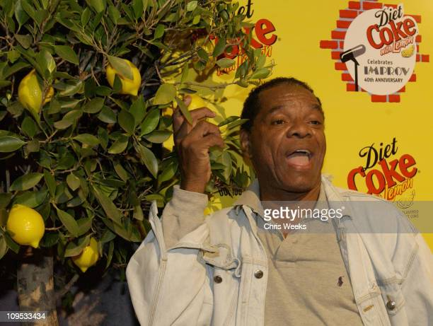 John Witherspoon during Diet Coke With Lemon Celebrates The Improv's 40th Anniversary Arrivals at The Improv in Los Angeles California United States