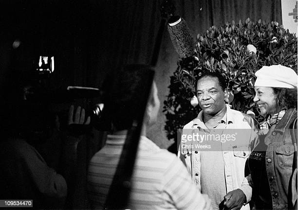 John Witherspoon during Diet Coke With Lemon Celebrates The Improv's 40th Anniversary Black and White Photography by Chris Weeks at The Improv in...