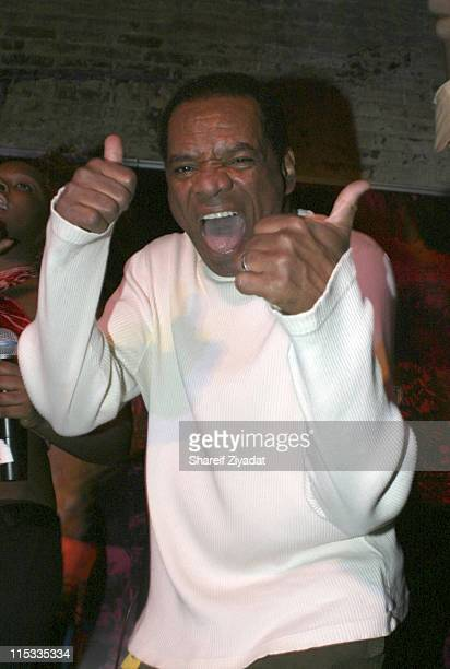 John Witherspoon during WyClef Jean Performs at PM February 2 2005 at PM in New York New York United States