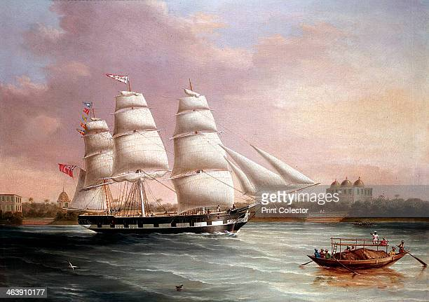 'John Wood Approaching Bombay' c1850 At this time the East India Company was still governing India The company was founded in 1600 to challenge the...