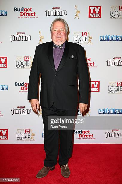 John Wood arrives at the 57th Annual Logie Awards at Crown Palladium on May 3 2015 in Melbourne Australia