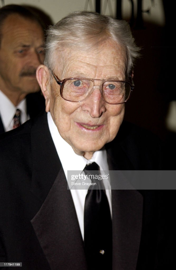 John Wooden during NAACP Legal Defense Fund's Hank Aaron Humanitarian Award in Sports at The Beverly Hilton Hotel in Beverly Hills, California, United States.