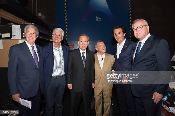 John ÊWren CEO of Omnicom Group Maurice Lvy chief executive officer of Publicis General Secretary of the United Nation Ban KiMoon Sir Martin Sorrell...