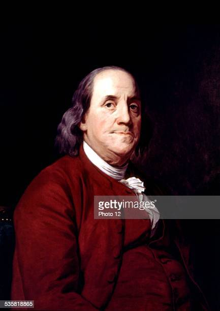 John Wright portrait of Benjamin Franklin United States Corcoran gallery of arts