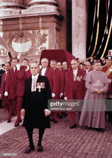 John Xxiii And The Second Vatican Council Rome 11 octobre 1962 Le pape JEAN XXIII et le second Concile du Vatican désigné sous le nom de 'Vatican II'...