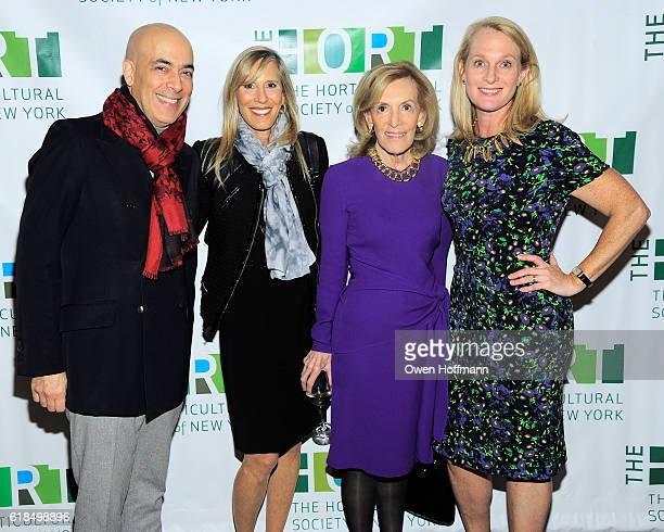 John Yunis Wendy Sarasohn Annette Rickel and Piper Kerman attend The Hort's Annual Fall Luncheon Honoring Piper Kerman at 583 Park Ave on October 25...