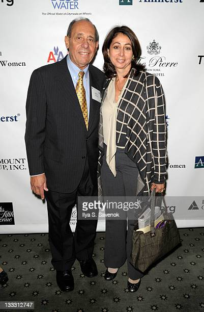 John Zaccaro and daughter Donna Zaccaro attend the 25th Annual Power Lunch for Women at The Pierre Hotel on November 18 2011 in New York City