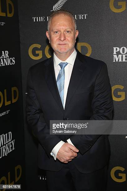 John Zinman attends TWCDimension with Popular Mechanics The Palm Court Wild Turkey Bourbon Host the Premiere of Gold at AMC Loews Lincoln Square on...