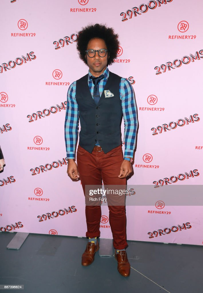 Johnathan Fernandez attends Refinery29 29Rooms Los Angeles: Turn It Into Art Opening Night Party at ROW DTLA on December 6, 2017 in Los Angeles, California.