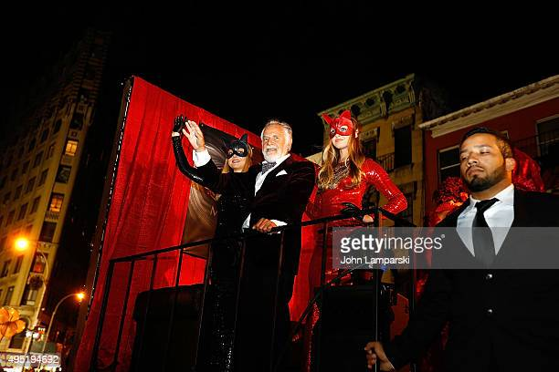 Johnathan Goldsmith aka The Most Interesting Man In The World attends the 42nd Annual Village Halloween Parade on October 31 2015 in New York City