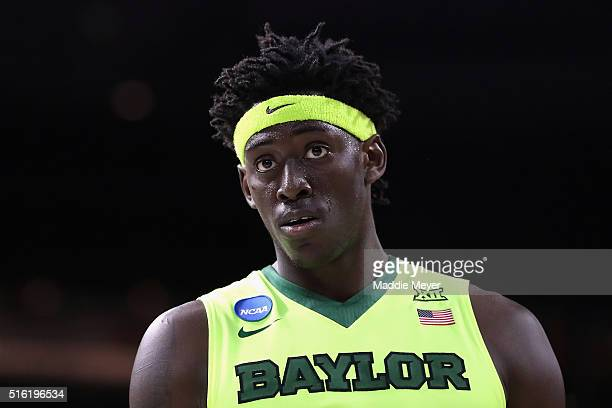 Johnathan Motley of the Baylor Bears looks on in the second half against the Yale Bulldogs during the first round of the 2016 NCAA Men's Basketball...