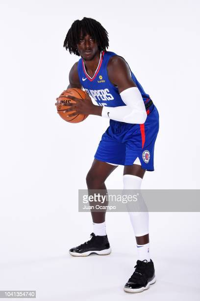 Johnathan Motley of the LA Clippers poses for a portrait during media day at the LA Clippers Training Center on September 24 2018 in Playa Vista...