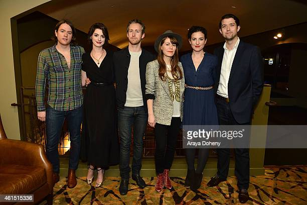 Johnathan Rice Anne Hathaway Adam Shulman Jenny Lewis Kate BarkerFroyland and Thomas Froyland attend the LA Times' Indie Focus Screening Series Song...