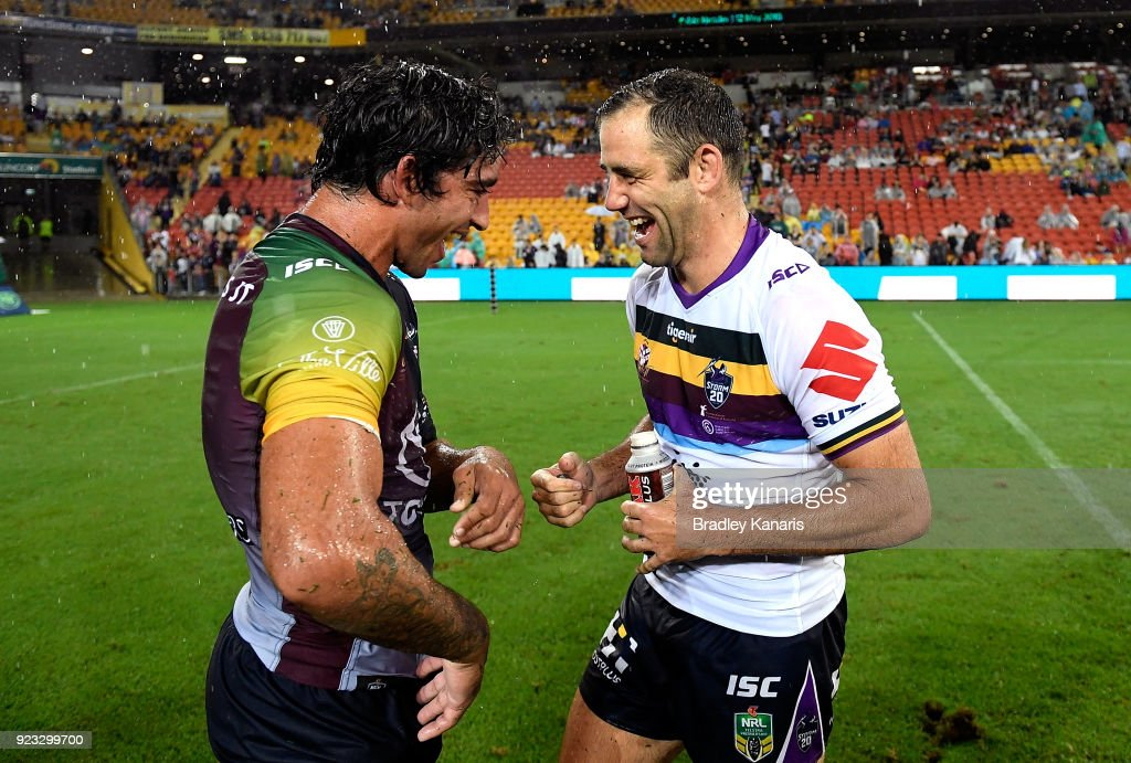 Storm v Cowboys - NRL Trial Match