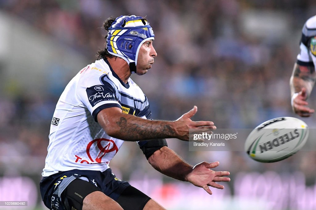 NRL Rd 25 - Titans v Cowboys : News Photo