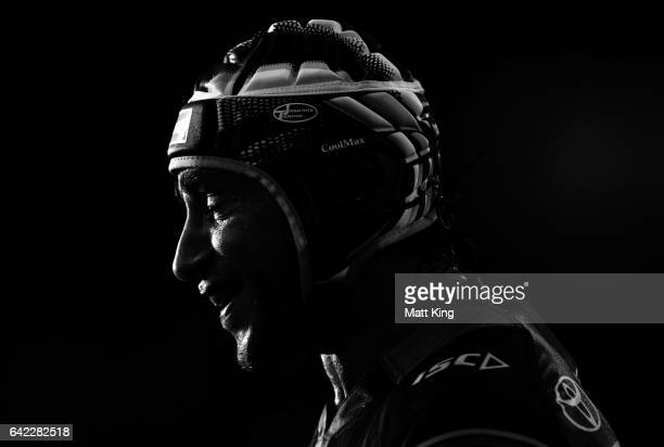Johnathan Thurston of the Cowboys looks on during the NRL Trial match between the Wests Tigers and the North Queensland Cowboys at Campbelltown...