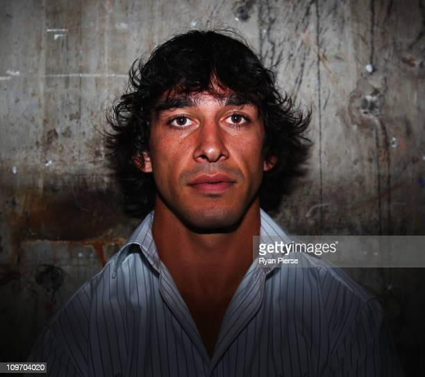 Johnathan Thurston of the North Queensland Cowboys poses during the 2011 NRL Season Launch at Casula Powerhouse Arts Centre on March 2 2011 in Sydney...