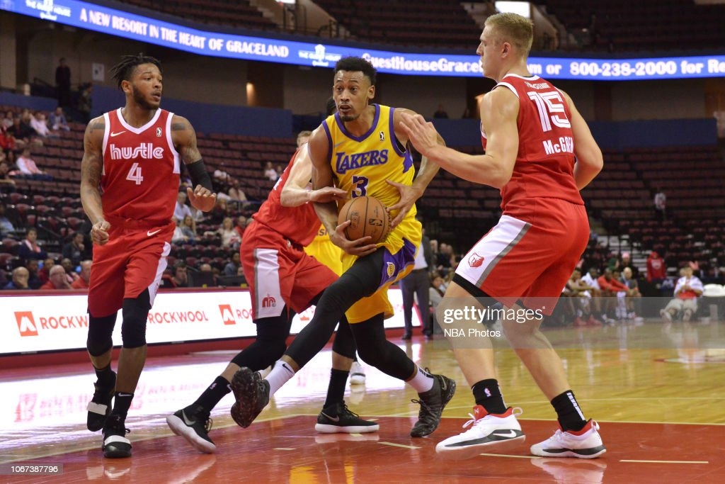 South Bay Lakers v Memphis Hustle : Nachrichtenfoto