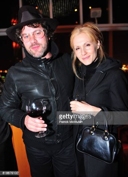 Johnathon Brown and Lorraine Abels attend NOWNESS Presents the New York Premiere of JeanMichel Basquiat The Radiant Child at MoMa on April 27 2010 in...