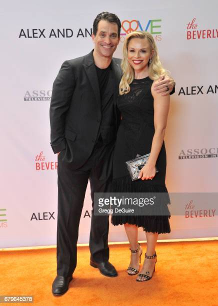 Johnathon Schaech and Julie Solomon arrive at the 24th Annual Race To Erase MS Gala at The Beverly Hilton Hotel on May 5, 2017 in Beverly Hills,...