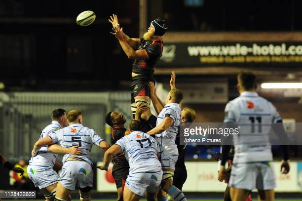 JohnCharles Astle of Southern Kings in action during the Guinness Pro14 Round 17 match between Cardiff Blues and Isuzu Southern Kings at the Cardiff...