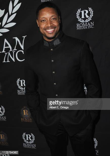 Johnes Allende Jr arrives for Roman Media's 5th Annual Hollywood Event A Celebration of Women and Diversity in Film held at St Felix on February 18...