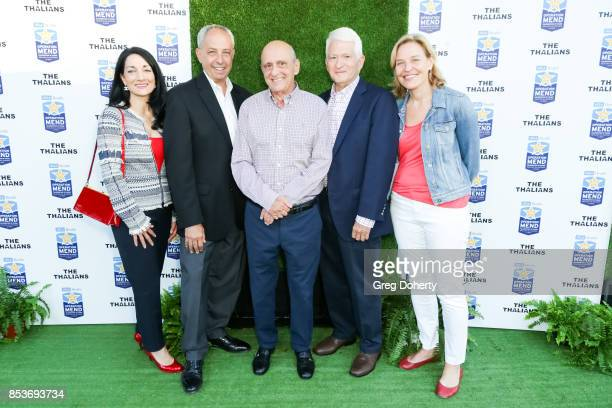 Johnese Spisso John Masiano Operation Mend Founder Ron Katz Chancellor of the University of California Los Angeles Gene Block and Dr Kelsey Martin...
