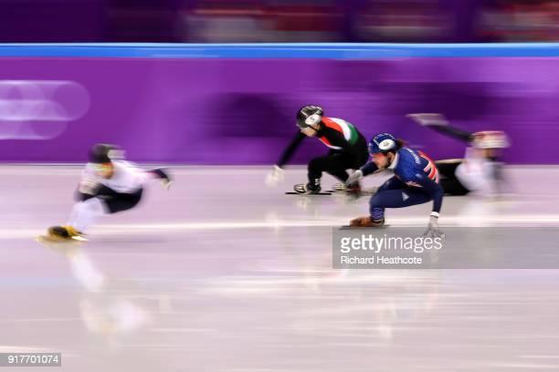 JohnHenry Krueger of the United States Farrell Treacy of Great Britain Ryosuke Sakazume of Japan Shaoang Liu of Hungary compete during the Men's...
