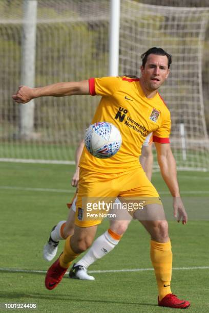 Matty Jacobs of Hull City U23 in action during the PreSeason Friendly match between Hull City U23 and Northampton Town at Lomas de Campoamor on July...