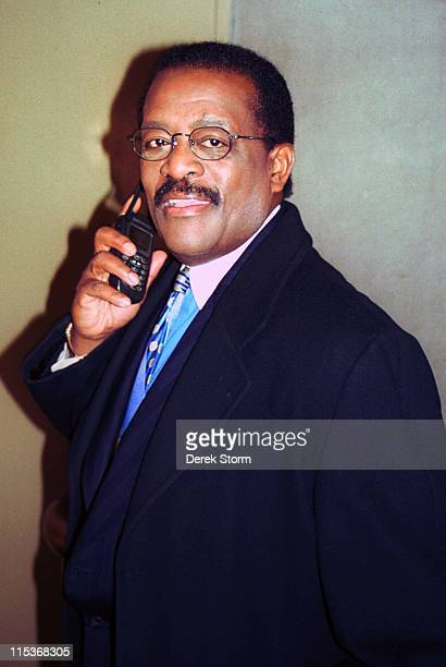 Johnnie Cochran during Johnnie Cochran Exits The Tonight Show February 7 2000 at NBC Studios in New York City NY