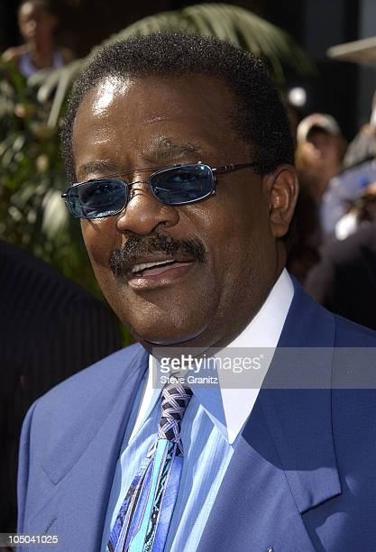 Johnnie Cochran during The 2nd Annual BET Awards Arrivals at The Kodak Theater in Hollywood California United States