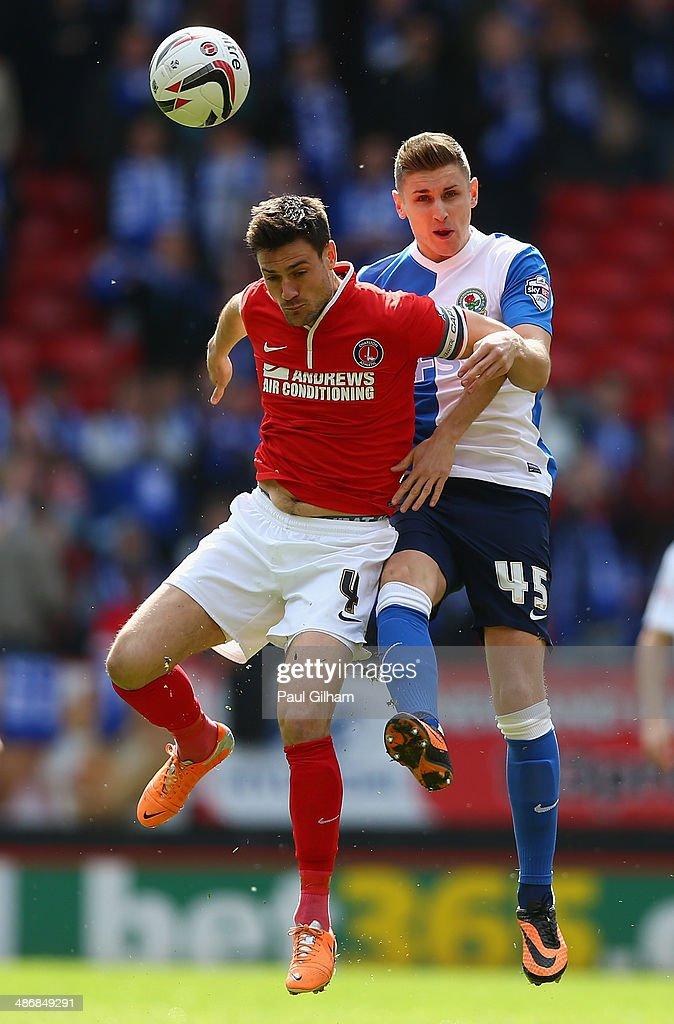 Charlton Athletic v Blackburn Rovers - Sky Bet Championship