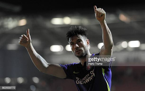Johnnie Jackson of Charlton Athletic during the Sky Bet Championship match between Bristol City and Charlton Athletic at Ashton Gate on December 26...